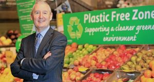John Curran, Musgrave group head of sustainability, picture at SuperValu in Blackrock, Co Dublin. Photograph: Julien Behal