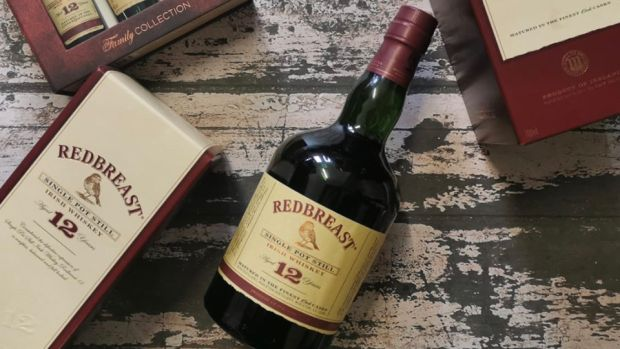 Caption: Redbreast 12 Year Old Single Pot Still, €70. Credit: Irish Whiskey Museum