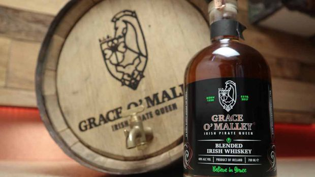 Grace O'Malley Blended Whiskey, €40. Credit: Irish Whiskey Museum