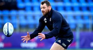 Cian Healy on Leinster's returning internationals: 'We came in to train first. We didn't come in just to jump into a position. We had to work into game minutes and that was the pressure that was there.' Photograph: Ryan Byrne/Inpho