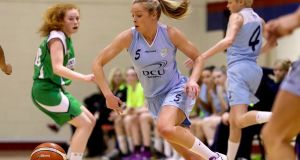 "Mercy's Sarah Woods: ""It's always a really tough game against Glanmire, and this weekend will be no different."" Photograph:  Tommy Dickson/Inpho"