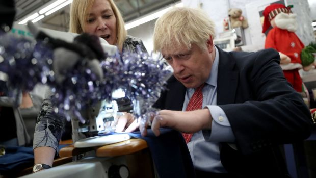 Prime Minister Boris Johnson has dodged an interview with Andrew Neil. Photograph: HANNAH MCKAY/AFP via Getty Images