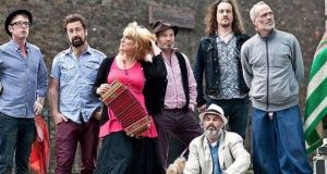 Irish traditional, folk and world music collide with Kíla.