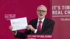 Corbyn reveals 'confidential' Northern Ireland Brexit report