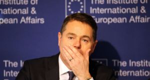 Paschal Donohoe: eyeing budget surpluses.  Photograph: Nick Bradshaw for The Irish Times