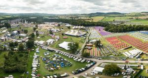The Electric Picnic in 2020 will take place from September 4th to 6th at Stradbally which has been its home since the beginning of the festival in 2004 when the first festival had a capacity of 10,000. Photograph: aerial.ie