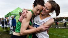 Fionnuala McCormack and her sister Una Britton could help Ireland to a team medla in the ropean Cross Country in Lisbon. Photograph:  Sam Barnes/Sportsfile