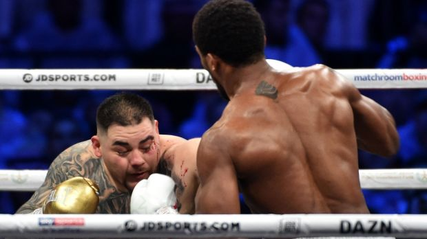 Ruiz admitted afterwards that he should have been in better shape. Photo: Getty Images