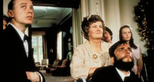 Brenda Fricker and Daniel Day-Lewis in Jim Sheridan's 1989 film My Left Foot, based on the book by Christy Brown.