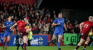 Munster and Leinster are on course for another intriguing festive Guinness PRO14 clash at Thomond Park, Limerick. Photograph: Gary Carr/Inpho