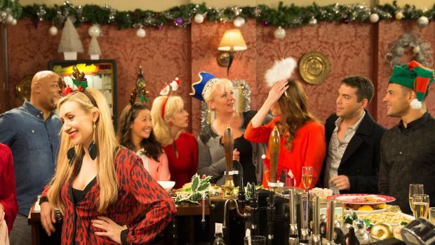 The Coronation Street Christmas episode from 2014