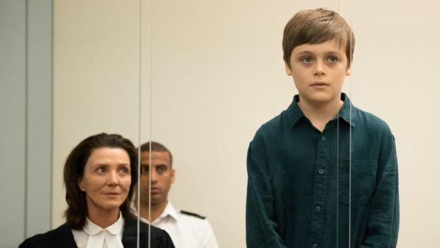 Michelle Fairley and Billy Barratt in Responsible Child