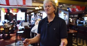 Chairman of Wetherspoons pub chain, Tim Martin. Photograph:   Ben Stansal/AFP/Getty Images