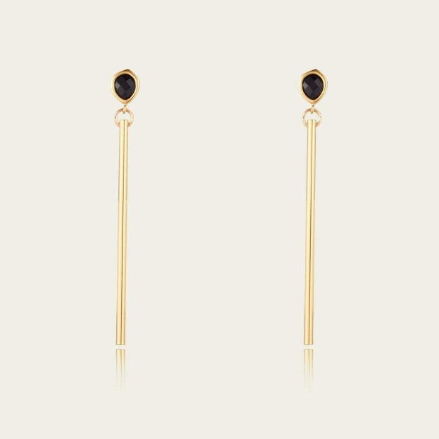 Earrings by Scribble and Stone (Industry, €75)