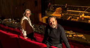 Abbey criticisms: the theatre's directors, Graham McLaren and Neil Murray. Photograph: Dara Mac Dónaill