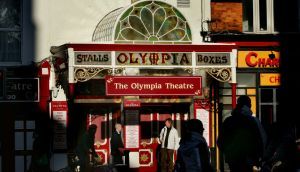 A recent gig with no paper tickets was a new milestone for the Olympia  and Ticketmaster. Photograph: Kate Geraghty