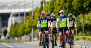 The AXA Community Bike Rides is a  programme that inspires people nationwide to get out on their bikes. Photograph: Morgan Treacy