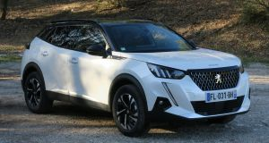 Peugeot gives its new 2008 crossover the family look - and an all-electric option