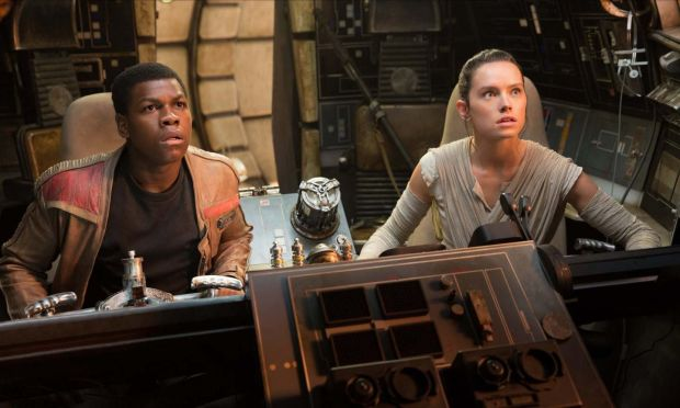 The Last Jedi: Daisy Ridley and John Boyega in the Star Wars film