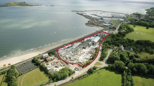 The former Techrete site in Howth, Co Dublin
