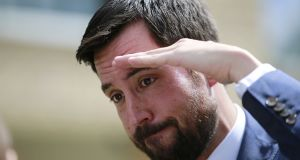 Minister for Housing Eoghan Murphy accused the Bill's sponsor, Sinn Féin, of 'hypocrisy' for blocking housing projects in their own constituency. File photograph: The Irish Times