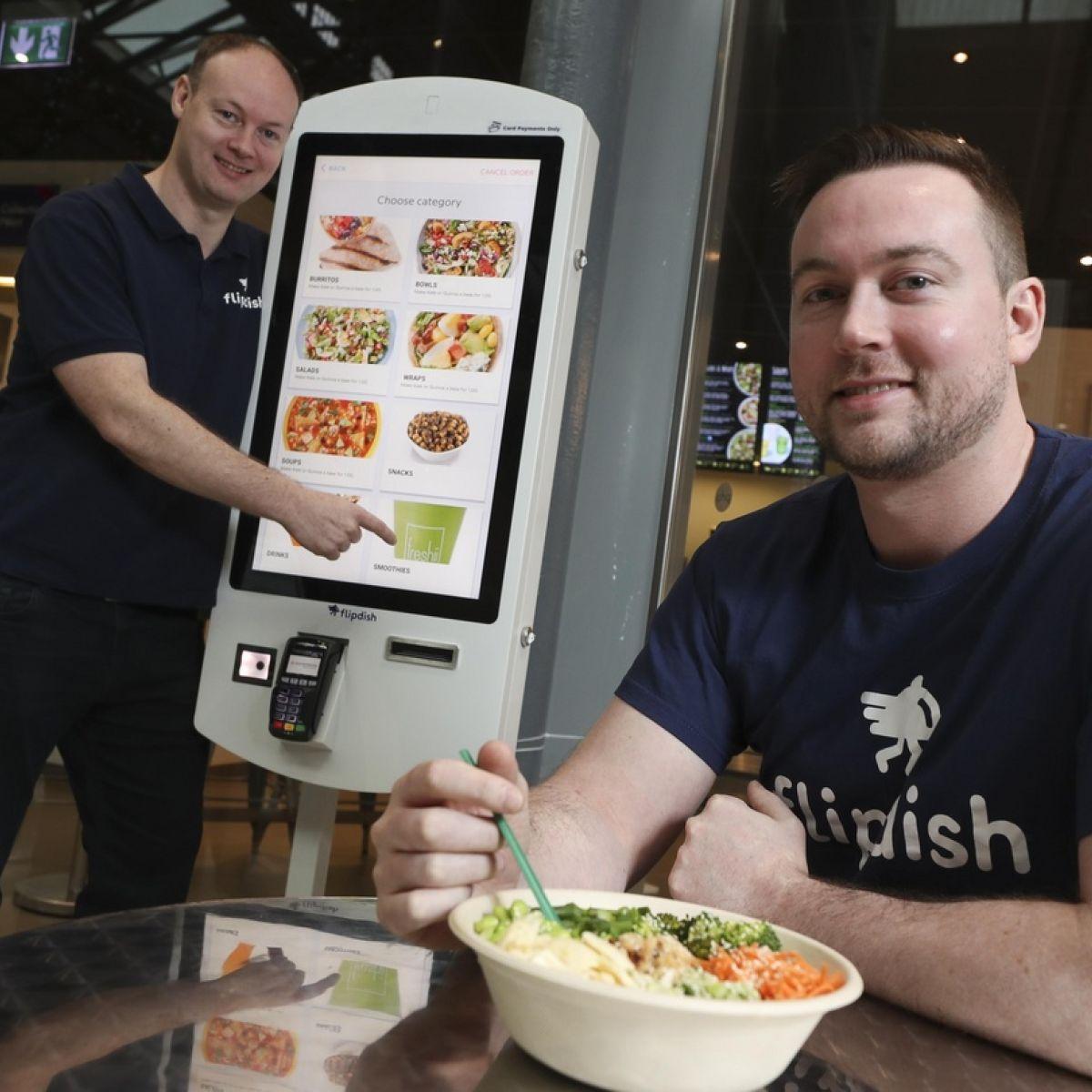 Flipdish Dishes Up Digital Self Service Kiosks For Restaurants
