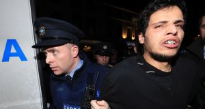 Mohamed Morei  being brought to Dundalk District Court in January 2018. File photograph: Colin Keegan/Collins Dublin