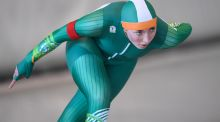 Tara Donoghue is Ireland's only elite long-track speed skater. Photograph: Getty