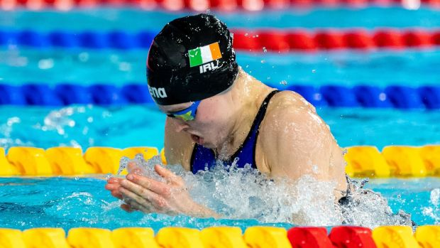 Mona McSharry is aiming for the 100m breaststroke at the Tokyo Olympics. Photograph: Giorgio Scala/Inpho