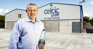 Padraig McEneaney, founder of Celtic Pure. The water company was at the centre of an arsenic scare this year.