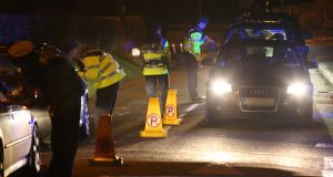 The arrest rate so far this year stands at just one third of 2018 when 938 drivers were caught on suspicion of intoxication.   File photograph: Colin Keegan/Collins Dublin.