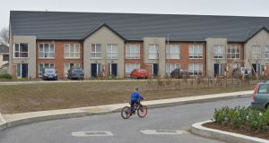 The social housing scheme will be backed by a three-part loan from AIB. File image:  Alan Betson / The Irish Times