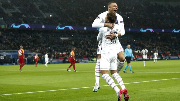 PSG are one of the biggest threats as the Champions League reaches the knockout stages. Photograph: Ian Langsdon/EPA