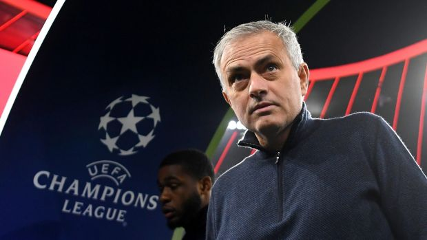 Jose Mourinho is back in the Champions League with Tottenham. Photograph: Michael Regan/Getty