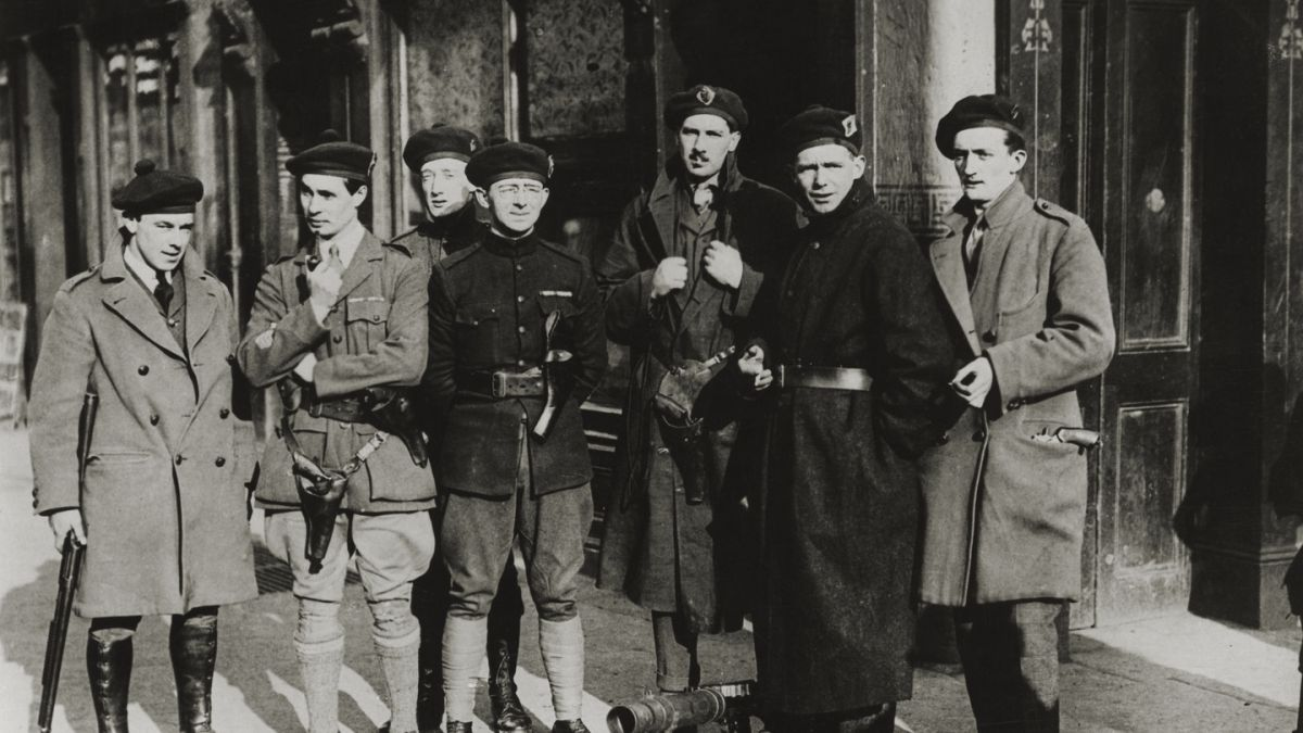 Black and Tans: 'Half-drunk, whole-mad' and one-fifth Irish