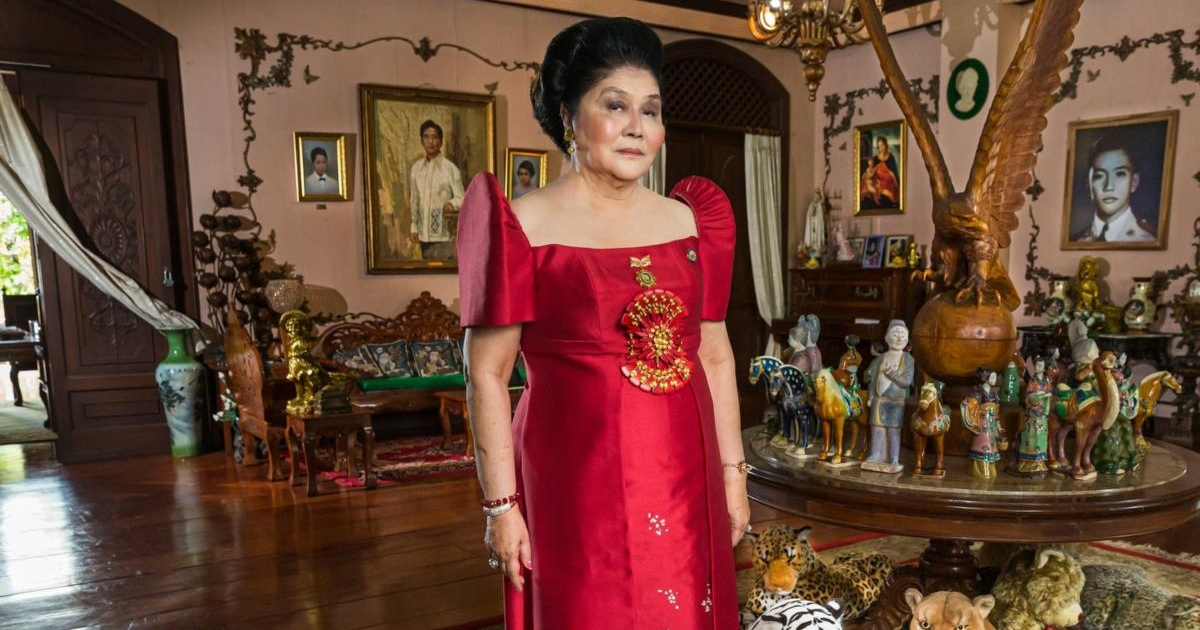 Imelda Marcos in The Kingmaker. Photograph: Lauren Greenfield