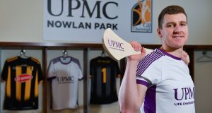 Kilkenny hurler Eoin Murphy  at the official announcement of UPMC's ten-year naming right partnership with Kilkenny's Nowlan Park.   Photograph:  Sam Barnes/Sportsfile