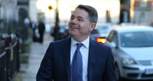 Minister for Finance Paschal Donohoe: managed to achieve broad political consensus by framing his 2020 budget on the basis of a no-deal Brexit. Photograph: Nick Bradshaw
