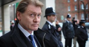 """Don't blame me for Brexit because I headbutted a Tory"". Eric Joyce MP leaves City of Westminster Magistrates Court in London on March 9, 2012today where he was spared jail for beating up four politicians while drunk and telling police ""You can't touch me, I'm an MP"" : Stefan Rousseau/PA Wire"