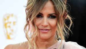 TV presenter Caroline Flack was charged with assault on Friday. Photograph: Ian West/PA Wire