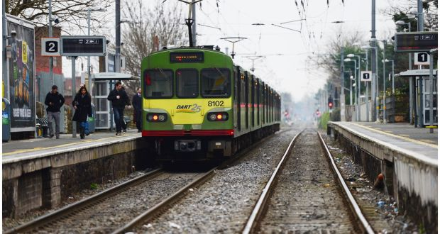 Train services disrupted at Tara St in Dublin due to man on line