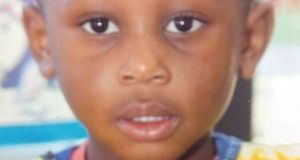 Three-year-old Solomon Soremekum died at Hynes Building on January 13th, 2014.
