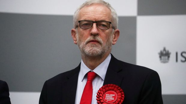 Labour Party leader Jeremy Corbyn was confident of success when the prospect of an election loomed. Photograph: Hannah McKay/Reuters