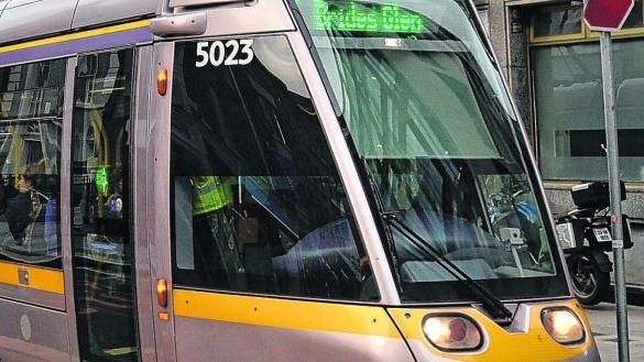 Man dies after being struck by Luas