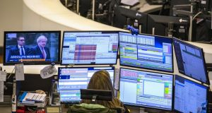 London's FTSE 100 share index was up for the fourth session in a row on Monday