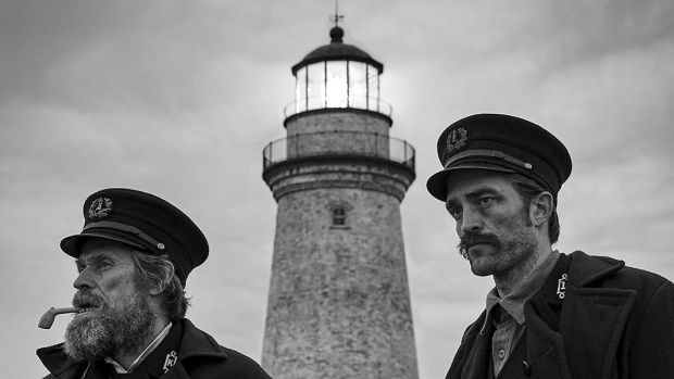 Robert Eggers's The Lighthouse casts Willem Dafoe and Robert Pattinson as lighthouse keepers going bonkers in black and white