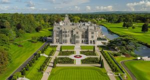 Adare Manor: When it was offered for sale in 1980, taoiseach Charles Haughey received many representations from people who believed the State should consider acquiring it. Photo: Murray Consultants