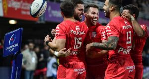 Toulouse have such a stranglehold on Pool 5 that realistically, they too are merely jostling for ranking positions. Photograph: Pascal Guyot/AFP