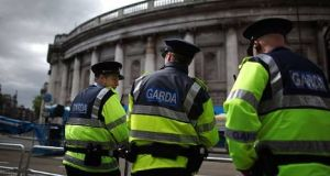 Gardaí are generally entitled to a pension of half of final salary plus a lump sum of 150 per cent final salary after 30 years of service. File photograph: Getty