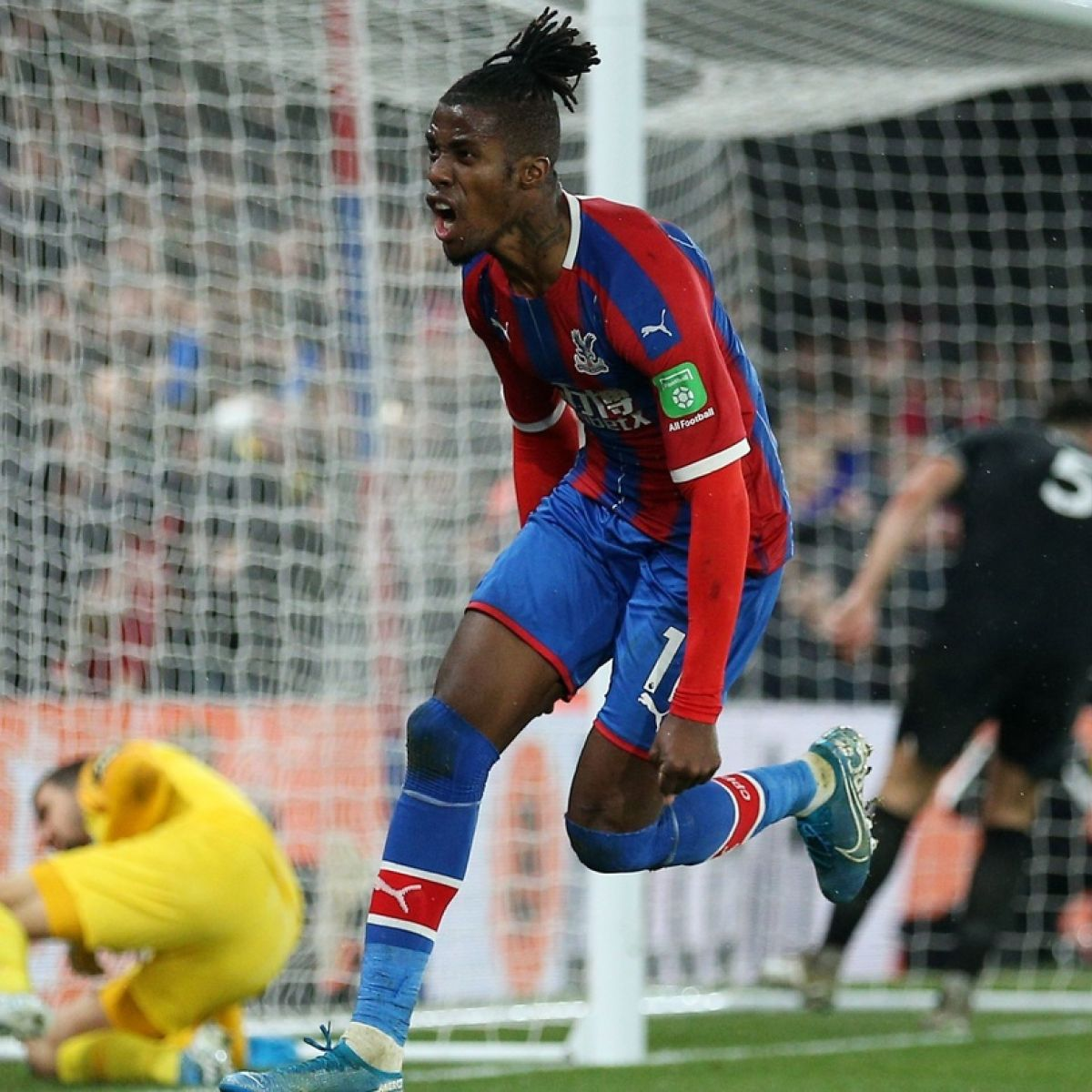 Wilfried Zaha Strikes To Save Palace A Point Against Brighton